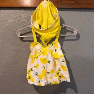 Meyer Lemon 6-9 month girls two-piece